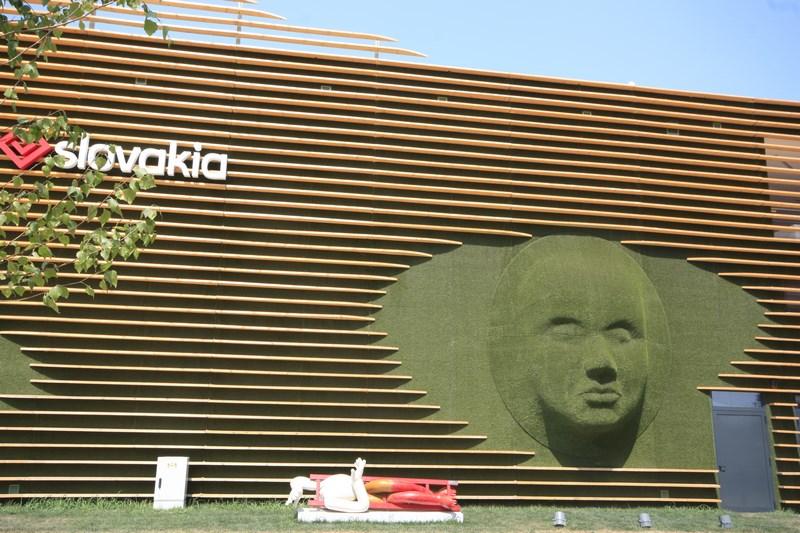 Pavillon de la Slovaquie