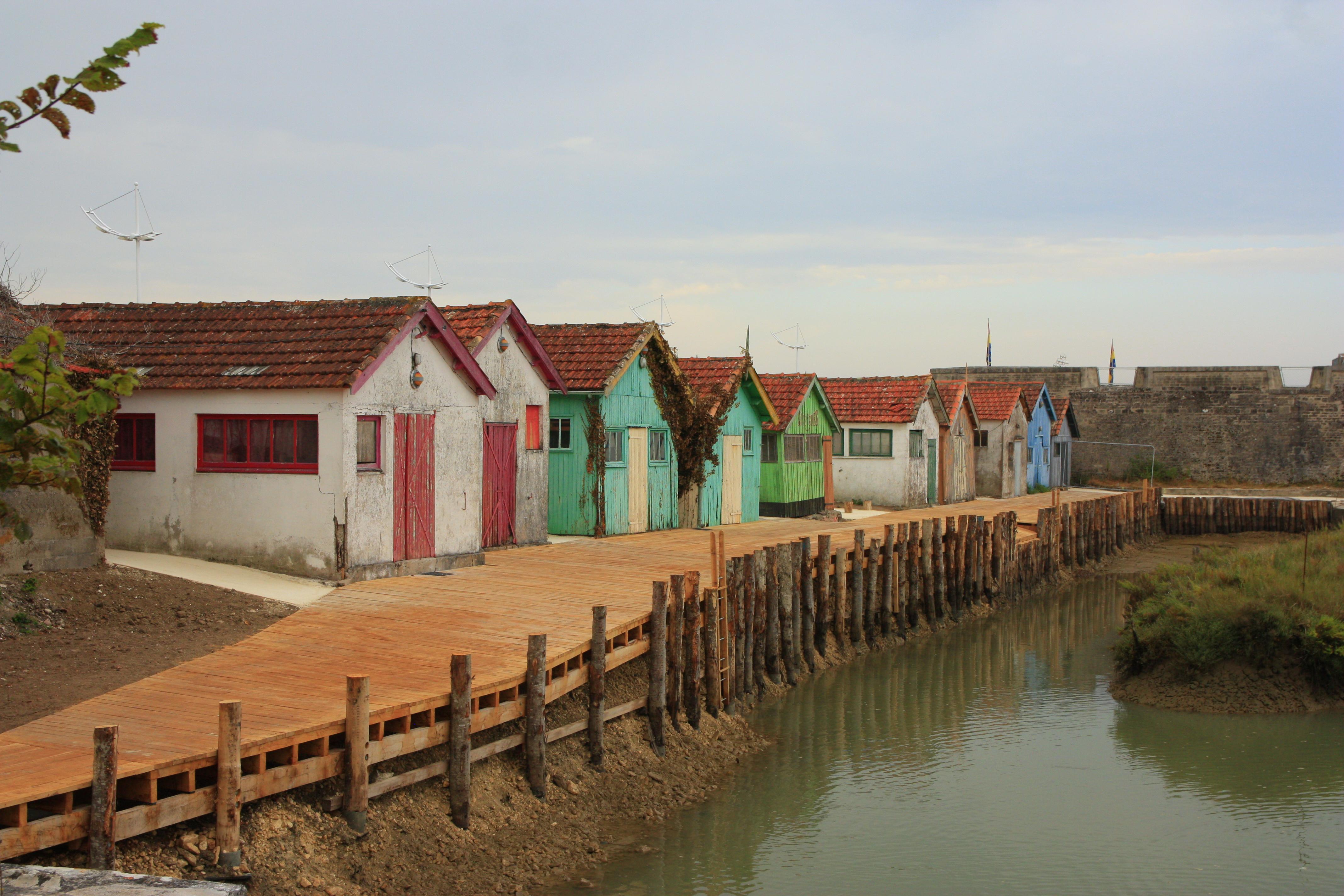 maisons de pecheurs