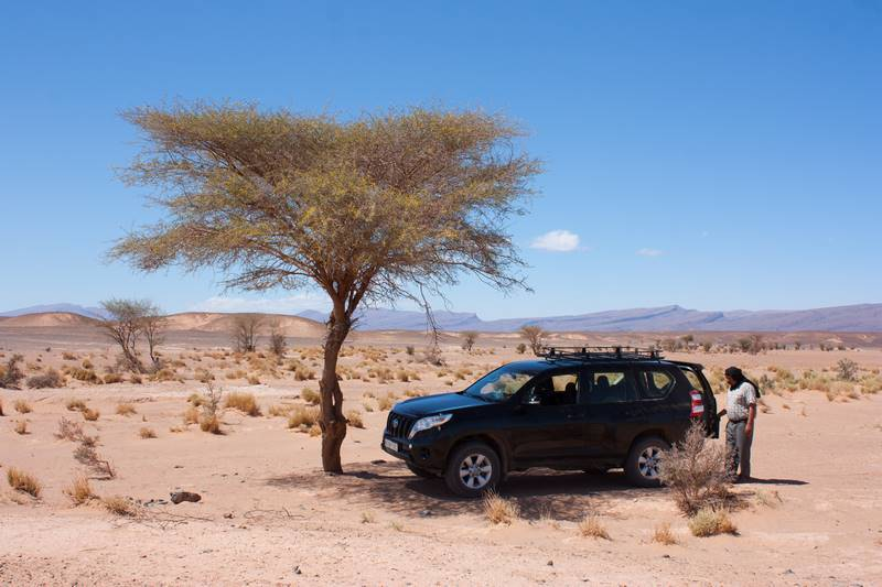 4x4 dans le desert