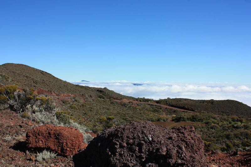 Près du cratère Commerson