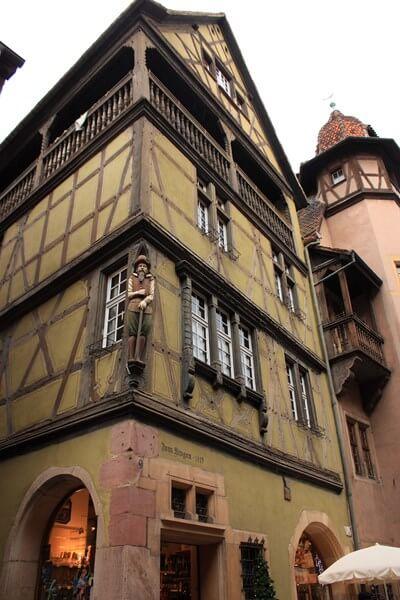 Une maison typique de Colmar