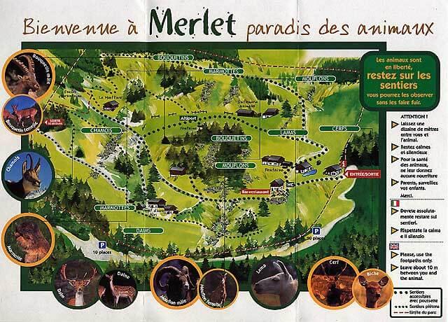 Plan parc de Merlet