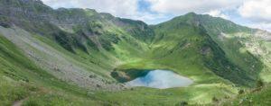 Du lac des Plagnes au lac de Tavaneuse