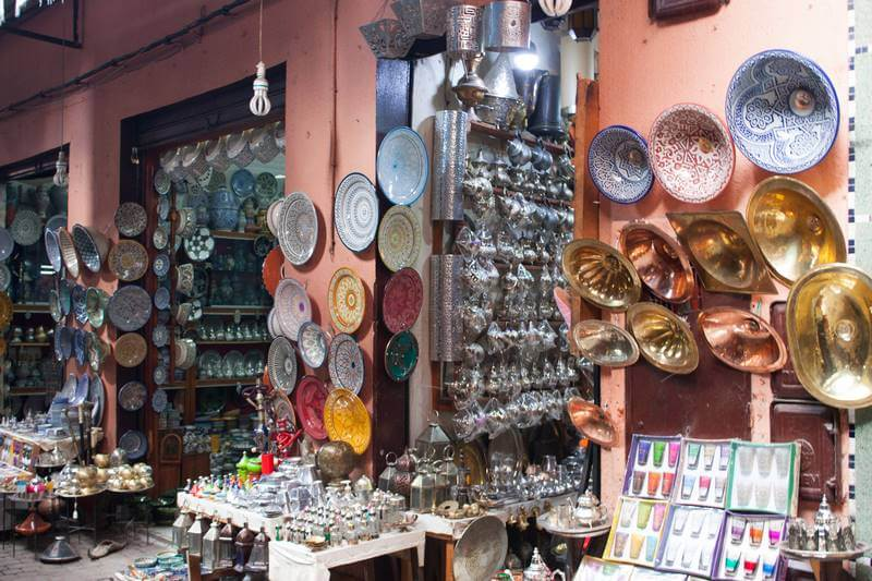 Boutique de souvenirs Marrakech