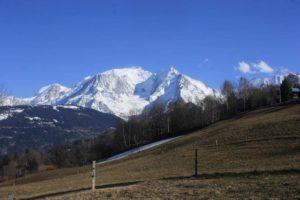 Combloux : vue imprenable sur le Mont Blanc