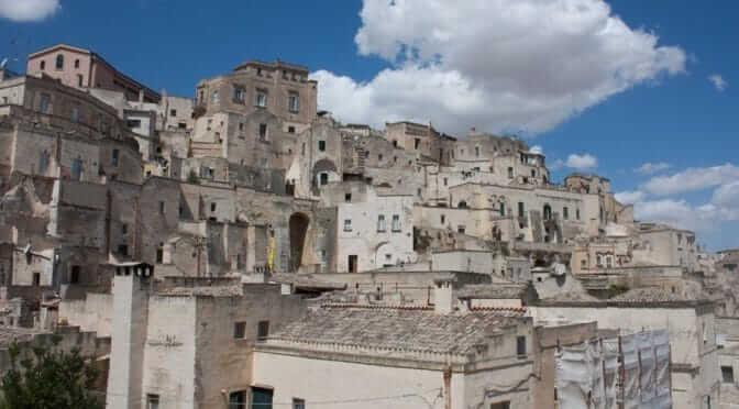 Matera : la ville troglodyte du sud